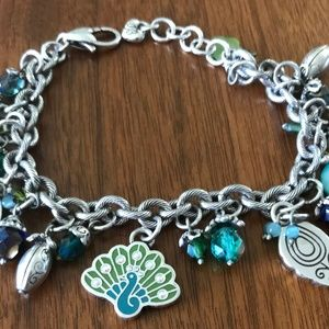 BRIGHTON BRACELET 8.5 INCH PEACOCK - NEW